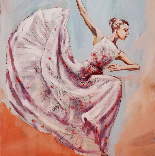 rochie vaporoasa_50pe70 c_acrilic pe pan