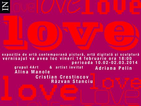 """""""Love"""" expoziție de artă @InSpayer"""