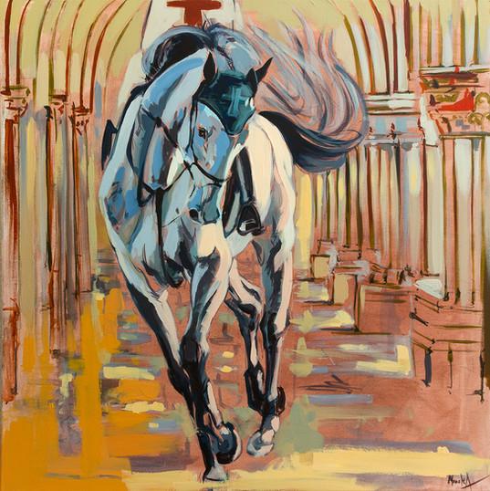 medieval_80 pe 80 cm autor Alina Manole_