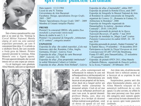 articol din OPINIA NATIONALA din data de 4 aprilie 2011