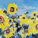 40oe 60 cm_acrilic pe panza_lan de flori