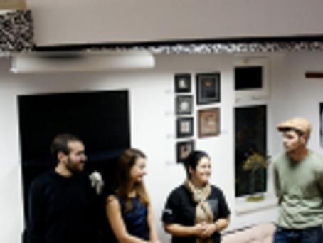 "vernisajul expozitiei "" Art 4 you in autumn"", organizata de 4 Art la Literat Caffee"