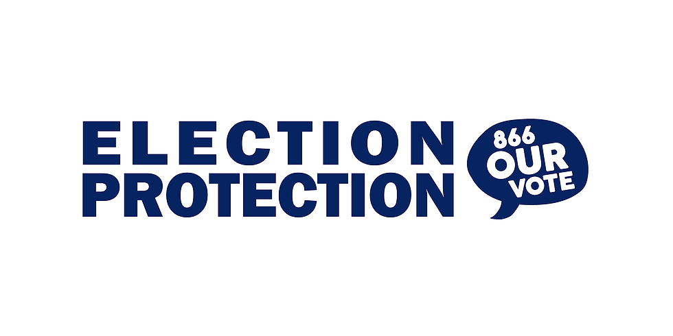 Election Protection Training: Poll Monitoring for the Primary