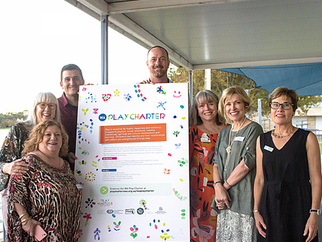 WA Play Charter champions the value of play as fundamental to children's development.