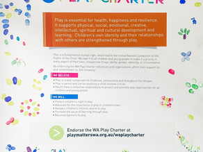 The Importance of a WA Play Charter, and How You Can Make a Difference.