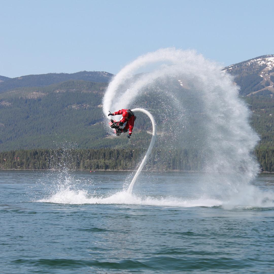 Flyboarding in Montana