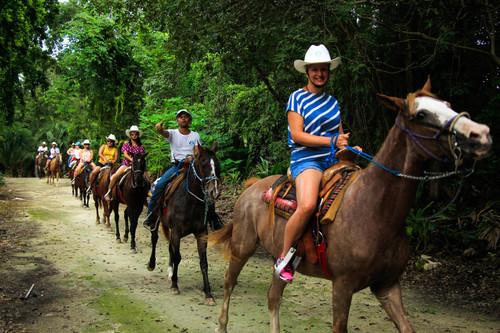 Horseback in Puerto Morelos