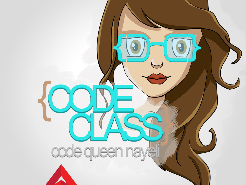 Code Queen Code Class Logo