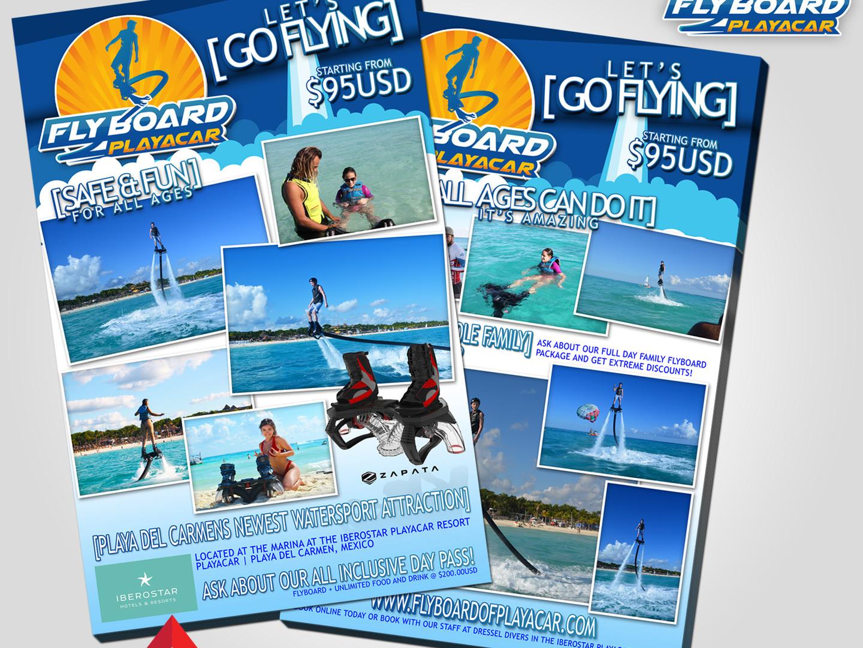 Flyboard of PlayaCar Ad Development