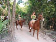 Horseback Riding in Puerto Morelos