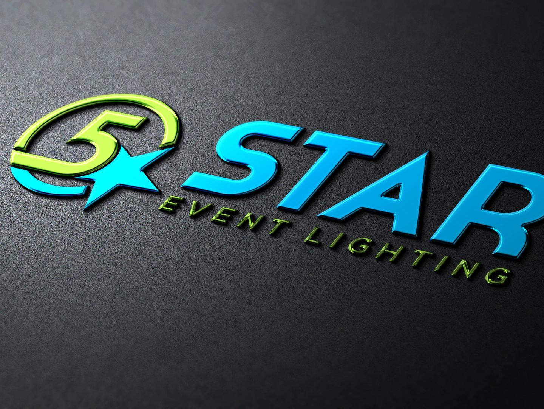 5 Star Event Lighting Logo