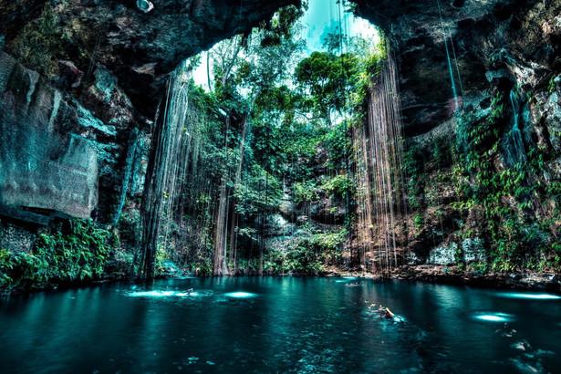 Cenote in Puerto Morelos