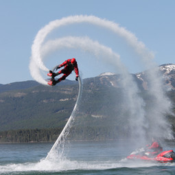 Flyboarding in Montana