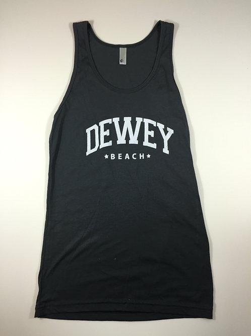 Dewey Beach Tank Top Black