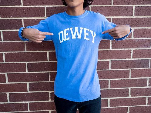 Classic Dewey Beach Long Sleeve T Shirt Comfort Blue