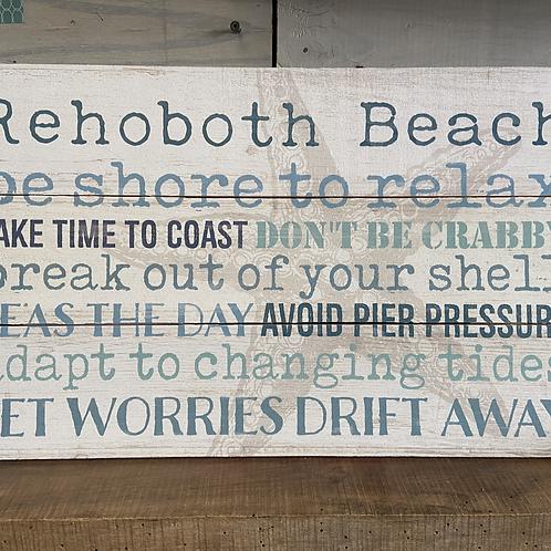 Rehoboth Beach Sign