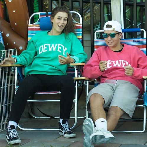 Classic Dewey Beach Crewneck Sweat Shirt