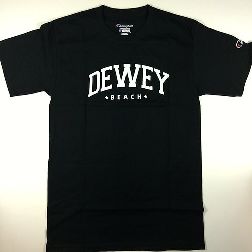Dewey Beach T Shirt Black