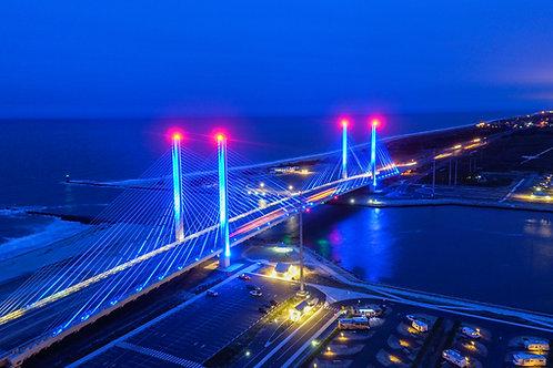 Indian River Inlet Bridge Night