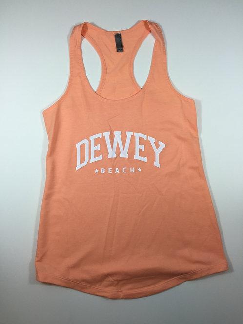 Women's Razorback Dewey Beach Tank Top Orange