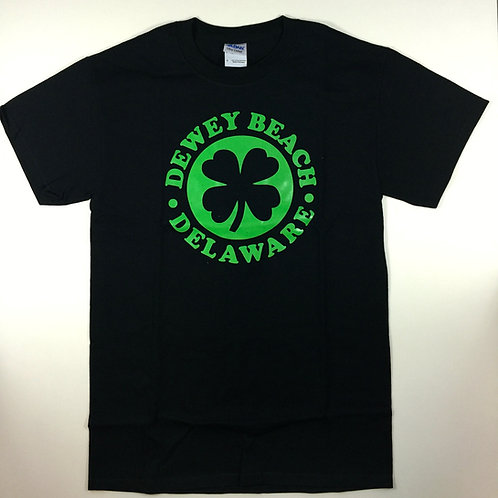 Lucky Dewey Beach Tee Black