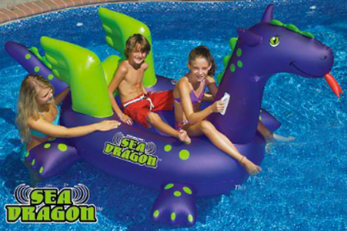 Giant Dragon Float