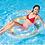 Thumbnail: Intex Transparent Glitter Tube Inflatable Swimming Pool Float Raft Ring
