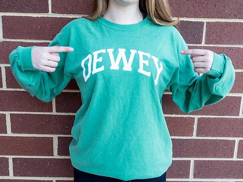 Classic Dewey Beach Long Sleeve T Shirt Comfort Green