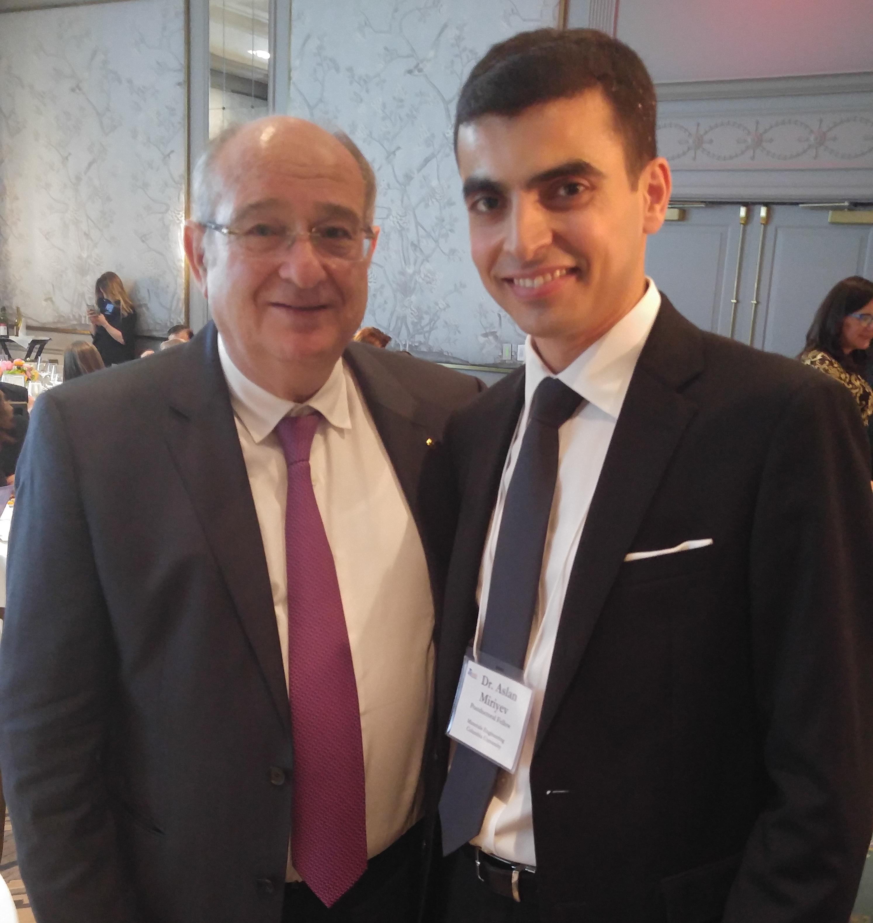With Prof. Peretz Lavie: