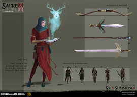 Character design - Props and variations