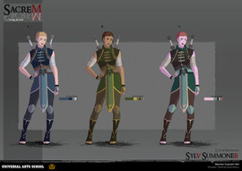 Character Design - Color Variations