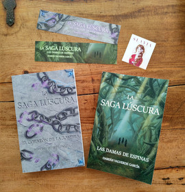 Book cover illustrations and bookmarks