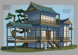 Prop design - Feudal Japan