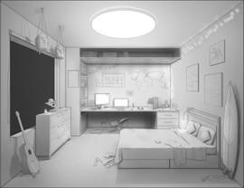 Set design - interior light