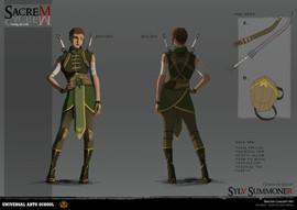 Character Design - Turnaround