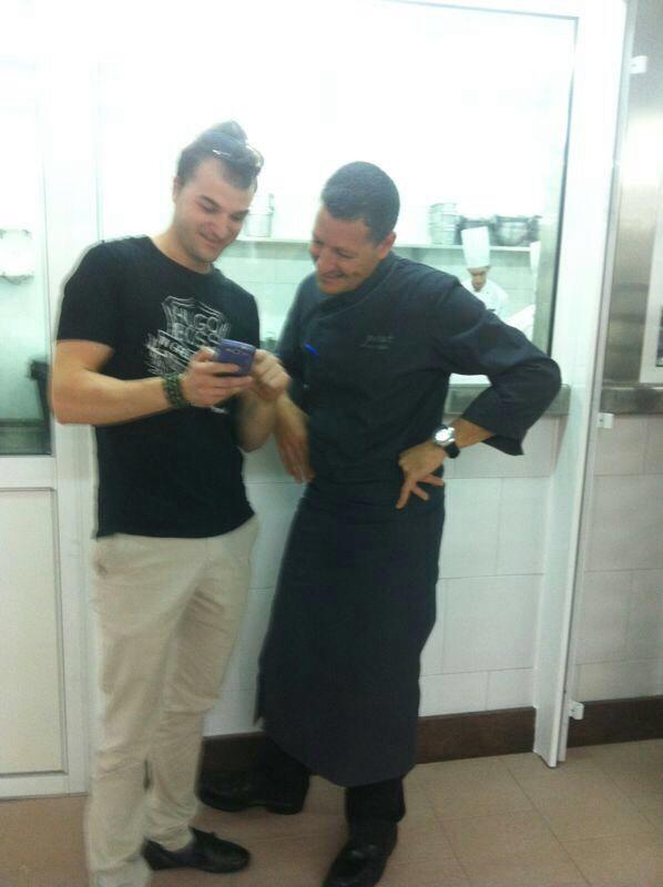Amb el Mestre Jordi Pujol