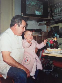 L'Eva i el seu Padri Miquel Ventura