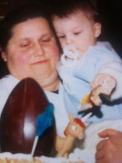 L'Adan i la seva Padrina Mª Teresa