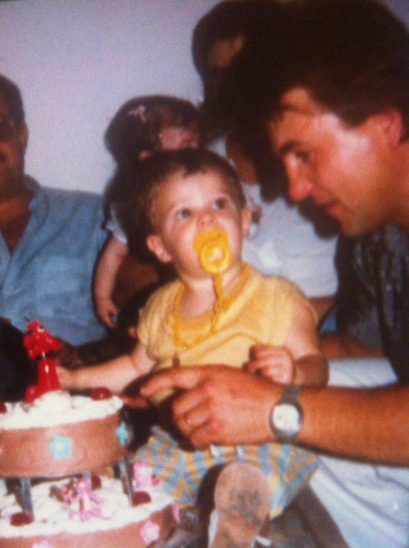 L'Adan i el seu primer pastel
