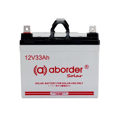 Aborder Dry Solar Battery 33AH
