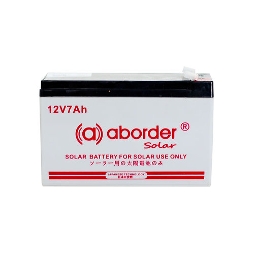 Aborder Dry Solar Battery 7AH