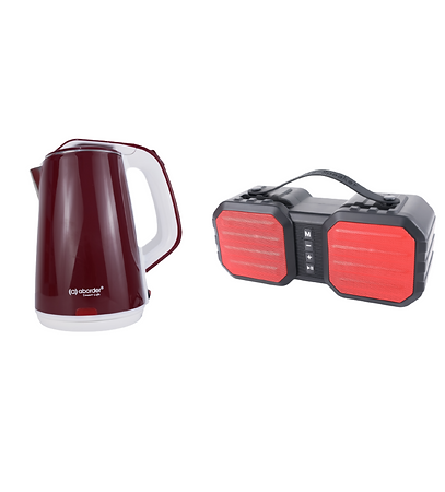 Kettle and Bluetooth Speaker