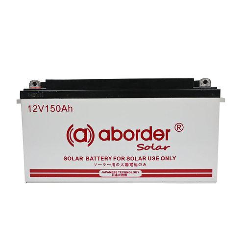Aborder Dry Solar Battery 150AH