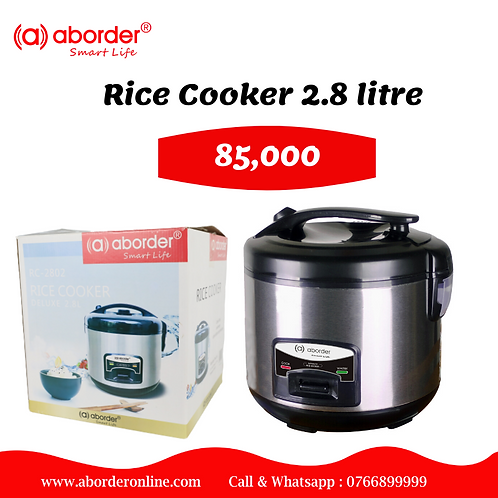Aborder 2.8 Kg Rice Cooker RC-2802