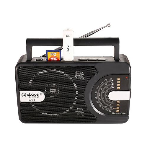 Aborder 4 Band FM Radio AR33