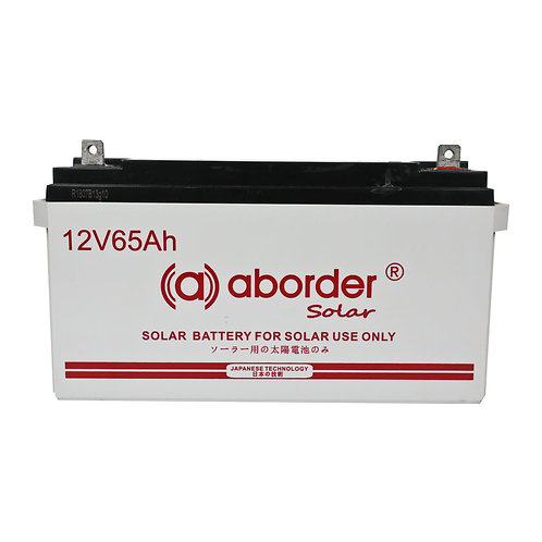 Aborder Solar Battery 65AH