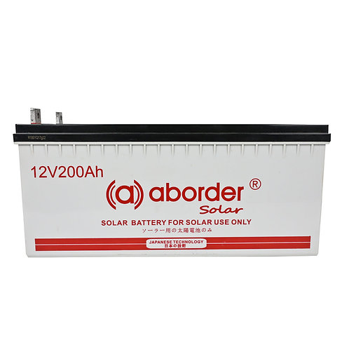 Aborder Solar Battery 200AH