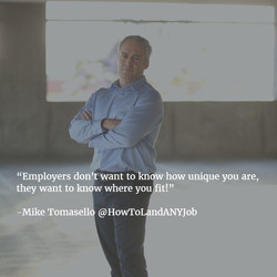 What does your ideal employer want_ How do you fit it_ Unique only matters if you meet someone's nee