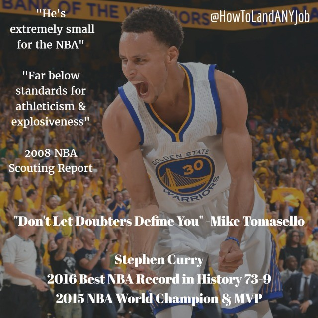 _Don't Let Doubters Define You_ Steph Curry was doubted by many before he entered the NBA and maybe