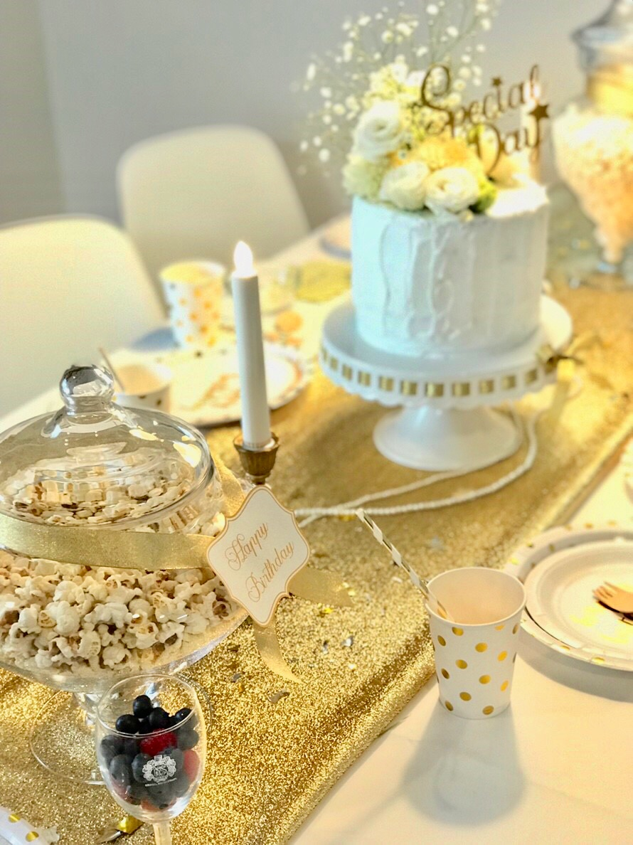 White&Gold Birthday